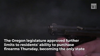 Oregon Becomes First State To Pass New Gun Control Law After Parkland Shooting - Video