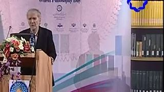 Dr Dinani speech about Iran before Islam- World Philosophy Day - Video