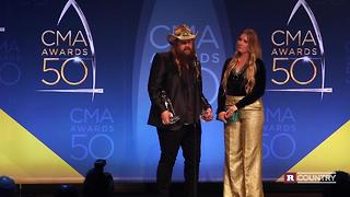 Chris Stapleton on The 50th CMA Awards | Rare Country - Video