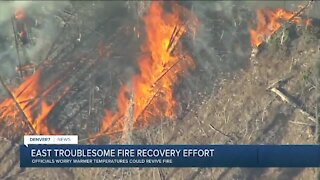 Fire officials report no growth at East Troublesome Fire since snowstorm hit Sunday