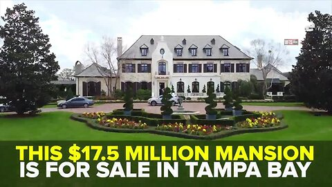$17.5 million lakefront mansion goes on the market in Hillsborough County | Taste and See Tampa Bay
