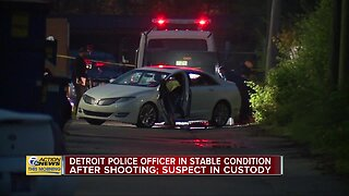 DPD Officer shot, Suspect wounded