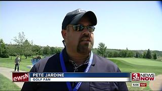 Pinnacle Bank Championship phone charging stations - Video