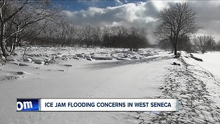ice jam flooding