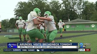 Arundel takes unbeaten record to undefeated Broadneck