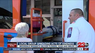 Local group spreading acts of kindness - Video