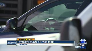 Stolen guns on the rise - Video