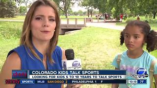Colorado Kids Talk Sports Broncos - Video