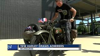 Century-old Harley travels cross-country - Video
