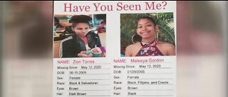 NLVPD searching for missing teenage girls