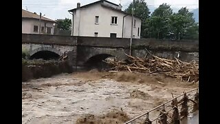 Flooding and Mudslides Hit Towns in Northern Italy