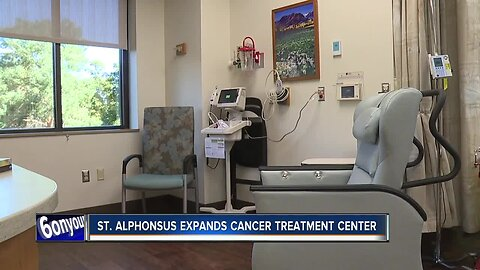 St. Alphonsus expands cancer treatment center