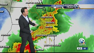 Friday afternoon storms