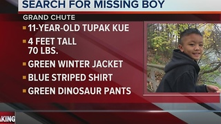 Police Search for Missing 11-year-old