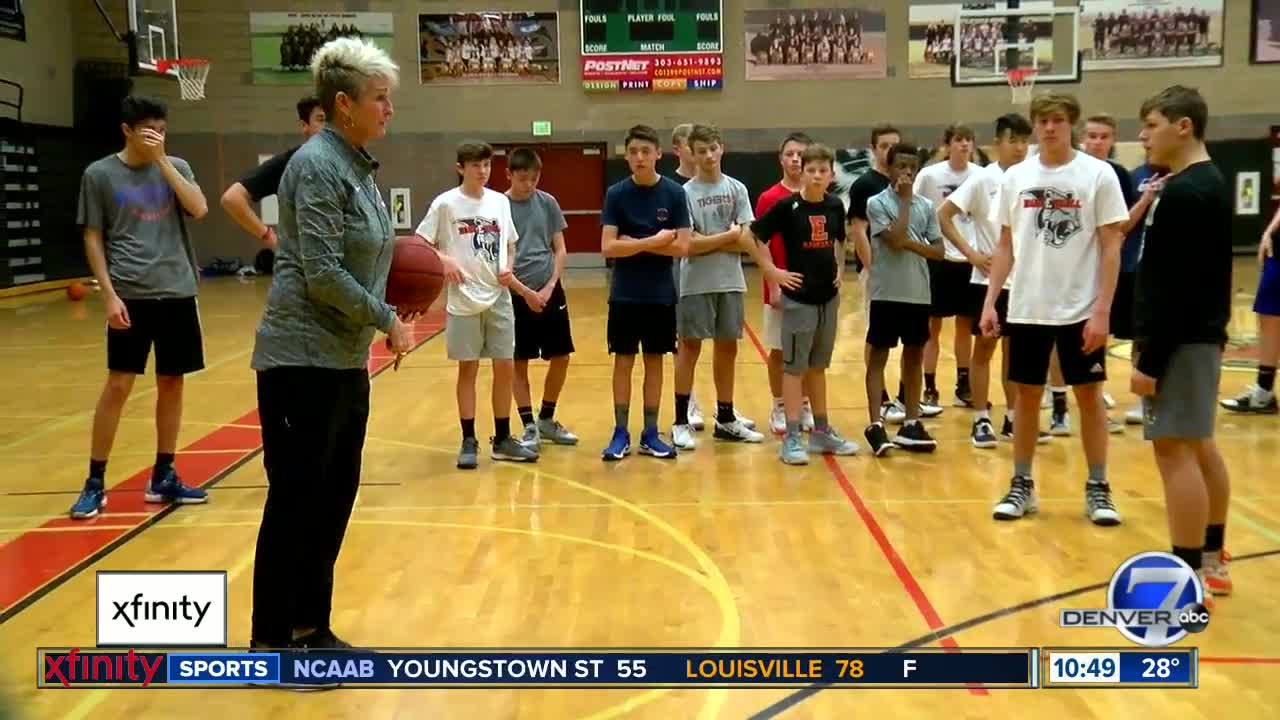 Erie High School basketball coach breaking gender barriers