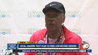 Local leaders tout plan to feed low-income seniors