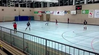 Soccer Player Scores Extraordinary Goal at German Tournament - Video