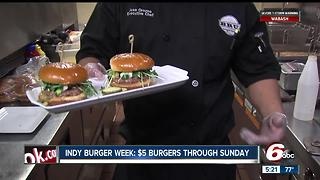 Prepare your appetite, burger fans: Indy Burger Week returns June 12-18 - Video