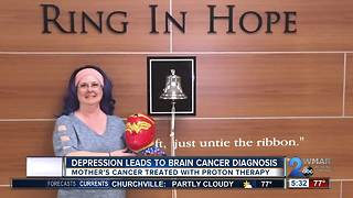 Suicide attempt leads to mother's brain cancer diagnosis - Video
