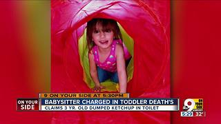 Babysitter charged in toddler death - Video