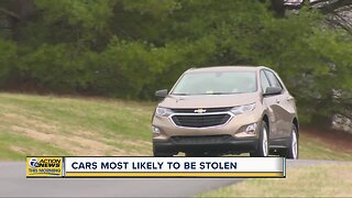 These cars are most likely to be stolen