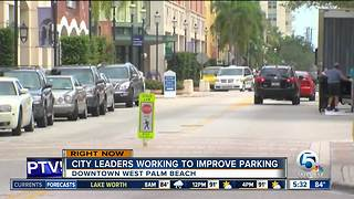 West Palm Beach city leaders work to improve parking - Video