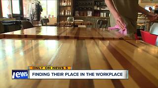 Record-low unemployment numbers helping people with disabilities find work - Video