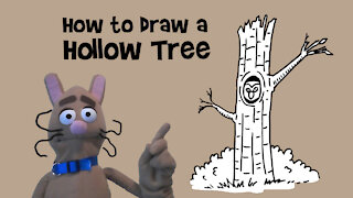 How to Draw a Hollow Tree