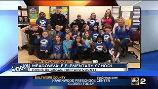 Good morning from Meadowvale Elementary School - Video