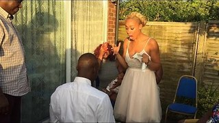 Emotional Proposal Leaves Family in Tears - Video