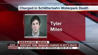 Charges filed against former Schlitterbahn employee - Video