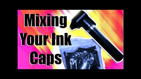 "✅Easy way to mix your TATTOO INK CAPS!!! 👀""quick tips"""