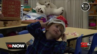 Christmas Event Brings Joy to Local Family - Video