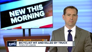 Waukesha County bicyclist struck, killed by box truck