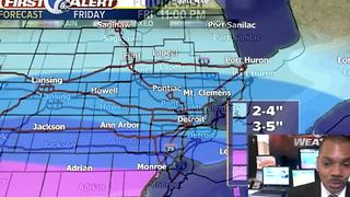 Winter storm - Video