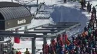 Workers Rescue Young Boy Dangling from Ski Lift - Video