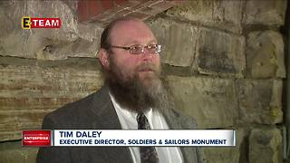 Soliders' and Sailors' Monument  opens tunnel tours to the public - Video