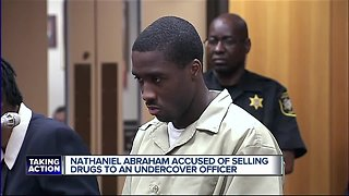Nathaniel Abraham arrested for allegedly selling meth in Pontiac