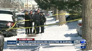 Man shot by Aurora police after allegedly confronting them with machete