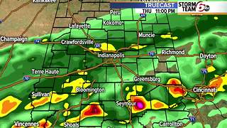 T'Storm threat, then much colder temps! - Video