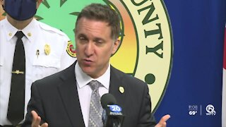 Palm Beach County leaders urge public to be patient with COVID-19 vaccination efforts