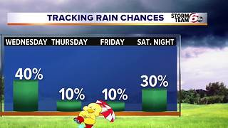 More rain tonight and tomorrow. - Video