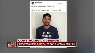 'We Are Seminole Heights' T-shirts for sale, proceeds go to families of shooting victims - Video