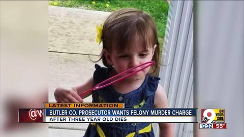 Butler County prosecutor to ask for felony murder charge in Hannah Wesche case