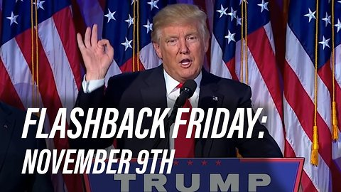 Flashback Friday: November 9th in History