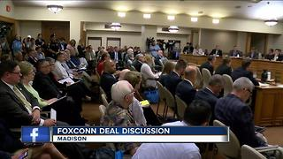 Foxconn bill held before public hearing - Video