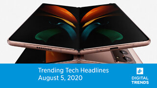 Trending Tech Headlines | 8.5.20 | Samsung Unveils 5 New Devices