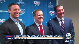 Dusty May introduced as FAU men's basketball coach