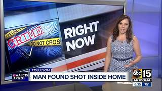 Police investigating after man found shot and killed in Tolleson - Video