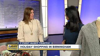 Holiday shopping in Birmingham